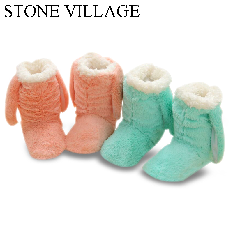 Newest  Solid Super Soft Coral Flee Warm Plush Winter Slippers Cute Ear Home Slippers Handmade Slippers Women Indoor Shoes Women soft house coral plush slippers shoes white