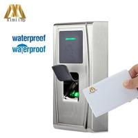 ZK MA300 Metal Case IP65 Fingerprint Access Control 13.56MHZ MF Card Access Controller With TCP/IP Fingerprint Time Attendance