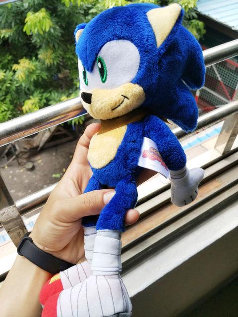 "2016 Sonic the Hedgehog 12″ ""Sonic Boom"" Sonic Plush Toy"