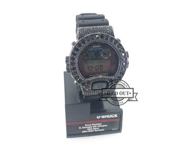 ed72f0898999 Online Shop Free Shipping Black Cz Diamond Iced Out Diamond G Shock DW6900  watch bezel | Aliexpress Mobile