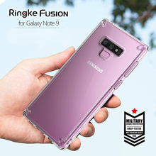 Ringke Fusion For Samsung Galaxy Note 9 Case Silicone Flexible Tpu and Transparent Hard PC Back Cover Hybrid for Galaxy Note9