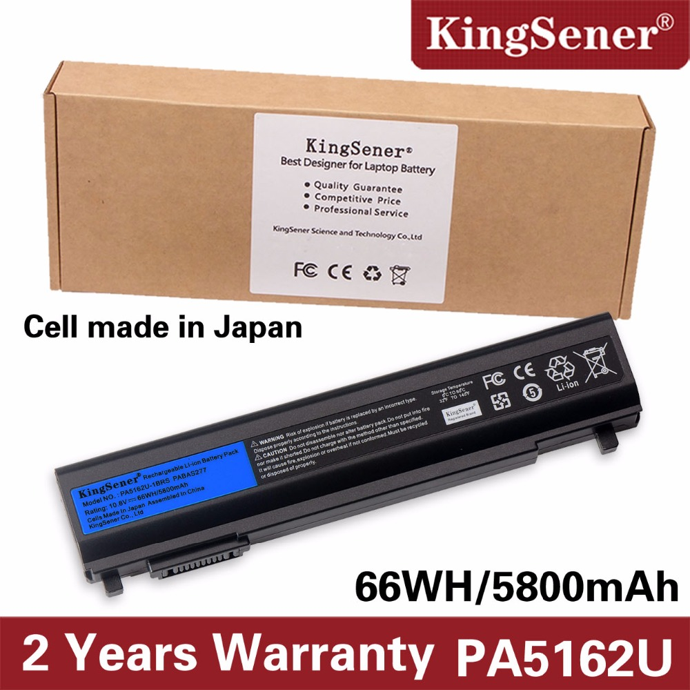KingSener Japanese Cell New PA5162U-1BRS Laptop Battery for Toshiba Portege R30 R30-A PA5162U PABAS277 10.8V 5800mAh 66WH женское бикини sky r30