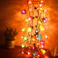 Jiawen em ouvir em forma de lâmpada abajur 3 W $number led RGB faixa de natal / decoração ( 4 m )