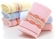 New 100%Cotton fabric Small fish jacquard towel children Face fast Drying Sweat towels bathroom