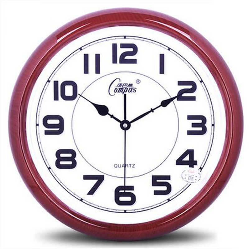kantor besar jam dinding menonton diam desain modern livingroom bathroom ddn1124 reloj de dikupas