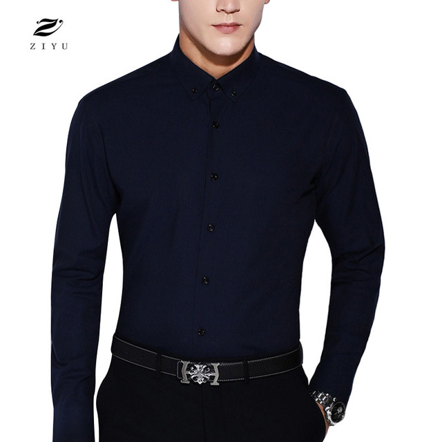 Famous Brand Wool Men Shirt Man Casual Clothing European and American Style Male Shirts High Quality Daily Men Shirts Camisa