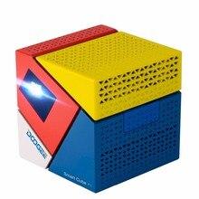 DOOGEE P1 Inteligente Mini Proyector LED Altavoz Incorporado COMO Recorrido Al Aire Libre Privado Teatro TV BOX Oficina Móvil Banco de la Energía