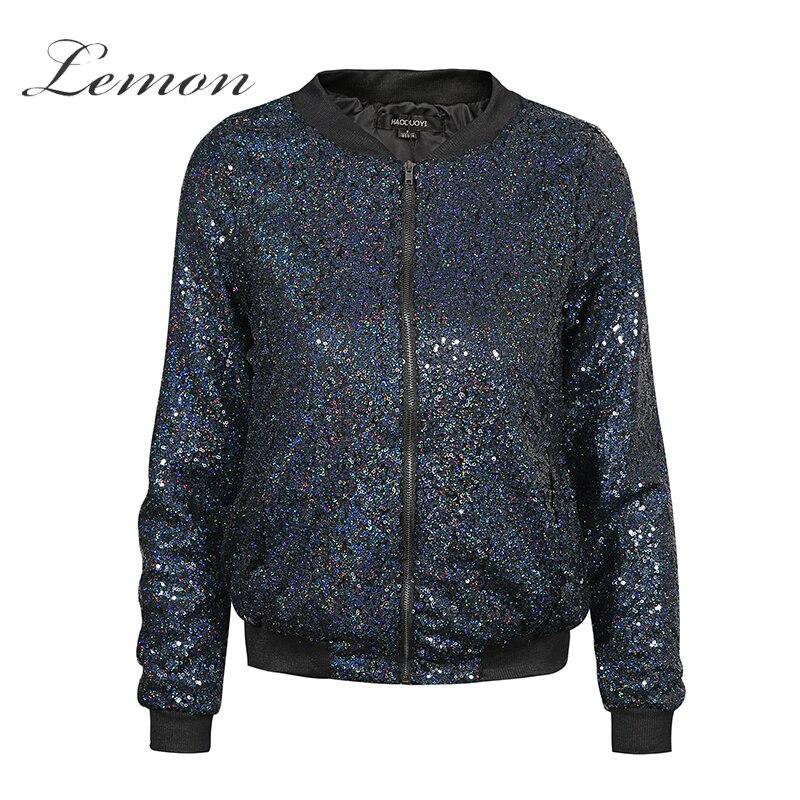 Lemon cazadoras de otoño nueva moda casual bolsillos con cremallera chaquetas bl