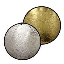 2-в-1 Фотостудия Свет Mulit фото диск складной свет Отражатели круглый диск с Чехол 110 /80/60 см