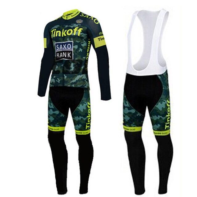 Aliexpress.com : Buy Saxo Bank Winter Thermal Fleece Cycling ...