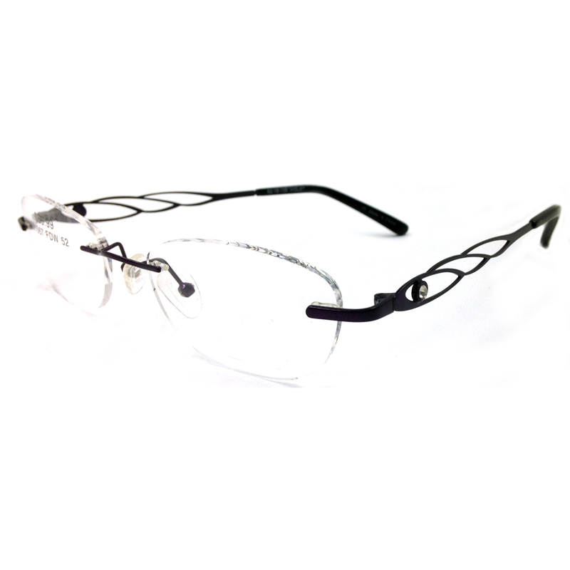 Rimless Eyeglass Frames With Bling : Popular Rhinestone Glasses Frames-Buy Cheap Rhinestone ...