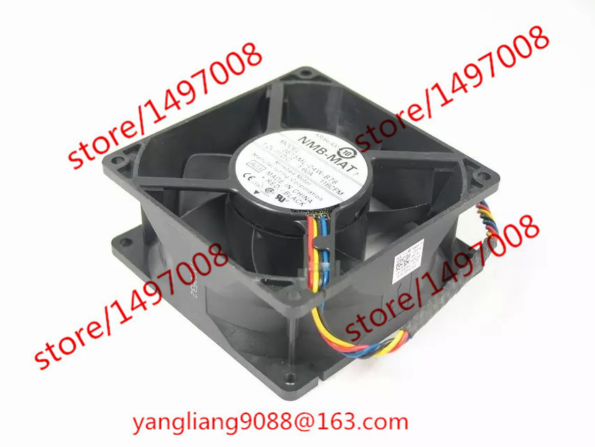NMB-MAT 3615ML-04W-B76, A03 DC 12V 1.60A     90x90x38mm  Server Square  fan nmb mat 3110kl 04w b49 b02 b01 dc 12v 0 26a 3 wire server square fan