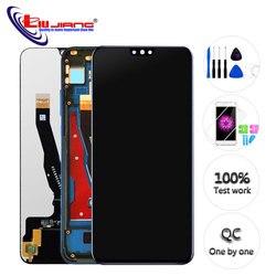 5.45 ''Nouvelle Pour Huawei Honor 8X JSN-AL00 JSN-L22 JSN-L21 L'assemblée de convertisseur analogique-Numérique D'écran Tactile d'affichage d'affichage à cristaux liquides de Remplacement Avec Cadre