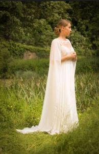 Image 3 - เจ้าสาวอุปกรณ์เสริม Cloaks หมวกผู้หญิงชีฟองผ้าคลุมไหล่ 200 ซม.