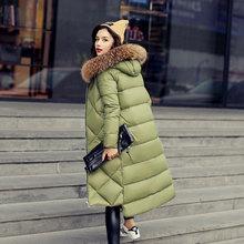 2016 New Fashion Women Down Coat Slim Winter Coat Women's Long Coat Womens Down Jackets Parka Christmas gifts Free Shipping