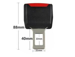 Image 5 - 1 Uds clip para cinturón de seguridad de coche cubierta Universal niños ajustable cinturón de seguridad extensor extensión hebilla de seguridad cinturón de seguridad titular de la tarjeta