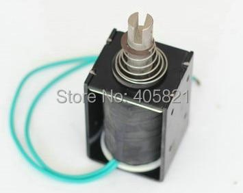 12V 10mm Stroke 6.5kg force Electromagnet Solenoid dc24v 1a 10mm stroke 150g froce spring load electric solenoid electromagnet xwj