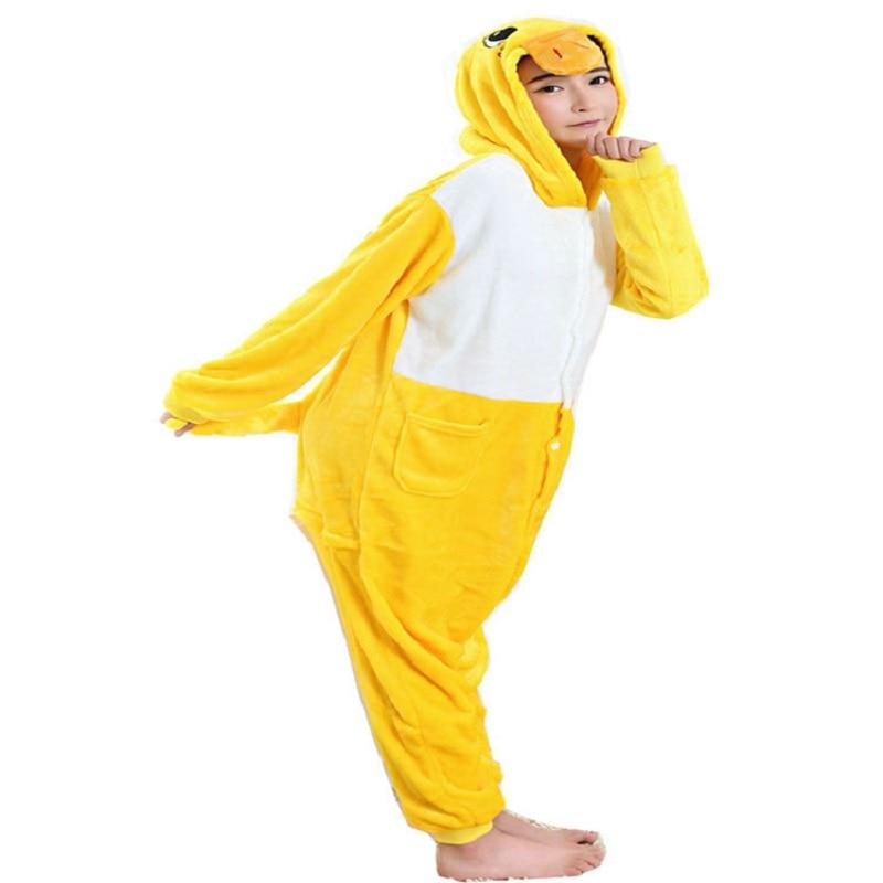AFEENYRK 2019 סטי פיג'מה ליל כל הקדושים סתיו / חורף הלבשת קריקטורה נשים פיג 'מה תפר פיג' מה בעלי החיים תפר פיג 'מה unicornio פיקאצ' ו