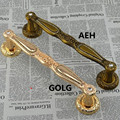 300mm Wooden,Glass Door Pull Gold Crystal top Quality Door Handle Antique brass diamond Home Ktv Hotel Big Gate Door Pull Handle