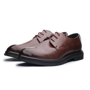 Image 4 - דסאי נעלי גברים קוריאני אופנה המחודד מקרית גברים של נעלי אביב קיץ סתיו חורף עור נעלי עסקי דירות