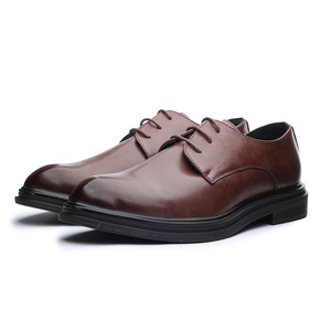 Image 4 - DESAI 靴男性韓国のファッションとんがりカジュアル紳士靴春夏秋冬レザーシューズビジネス予告なく変更、削除