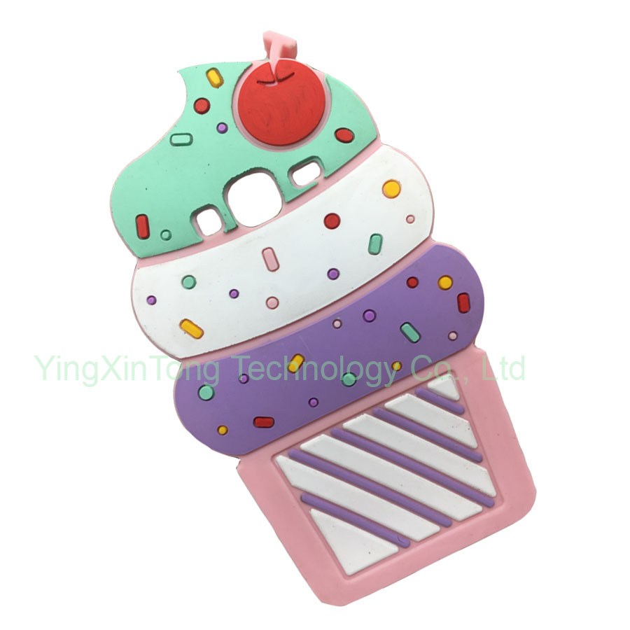 3D Sweet Cupcake Ice Cream Soft Silicone Case For Samsung GALAXY J1 mini J1 J3 A5 A3 2016/A310/A510/J120/J310/J320/J320F Cover