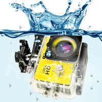 OWGYML Outdoor Sport Action Mini Kamera Wasserdicht Cam Bildschirm Farbe Wasserdicht Video Überwachung Unterwasser Kamera