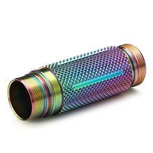 Astrolux S41S/S41S Colored LED Flashlight 18650 Extension Tube Body Tube 18650 Torch tube