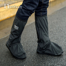NEW Fashion Motorcycle Waterproof Rain Shoes Covers Thicker Scooter Non-slip Boots Covers 100% Waterproof Adjusting Tightness