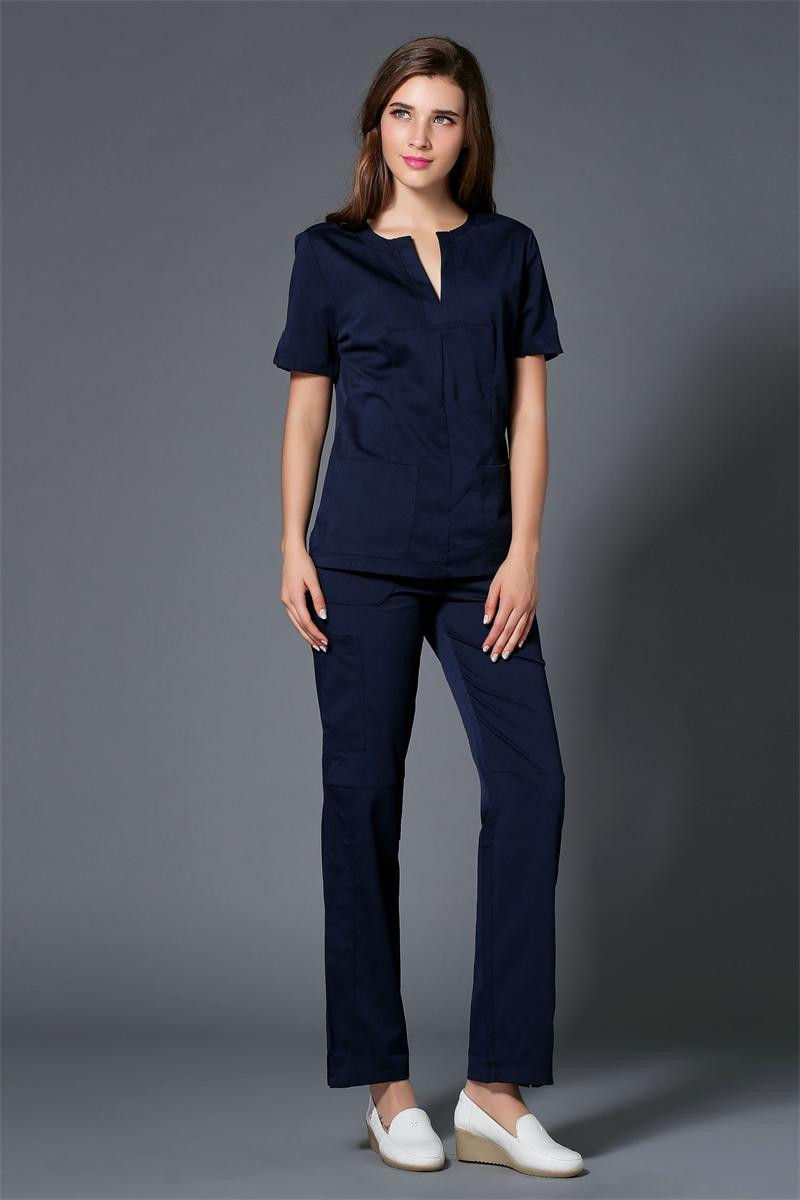 New Arrival Fashion Medical Scrub Sets Dental Clinic Beauty Salon Workwear Uniforms Slim Fit Overalls Nuurse Clothes Sets Back To Search Resultsnovelty & Special Use Scrub Sets