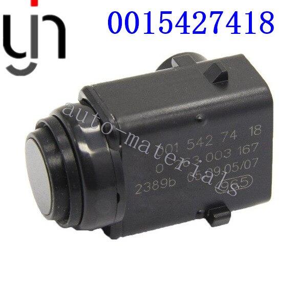 10pcs Free shippingPDC Sensor 001 542 74 18 0015427418 Parking Sensor For W203 W209 W210 W211
