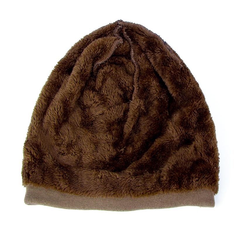 Men Winter Hat Beanie Gorro Gorros De Lana Gorras Warm Bonnet Chapeu ... 5accd1b5ad7