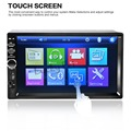 NEW 2 Din Car Video Player 7'' HD Touch Screen 1080P Bluetooth Stereo Radio FM/SD/MP4/MP5/Audio/USB/TF Auto Electronics In Dash