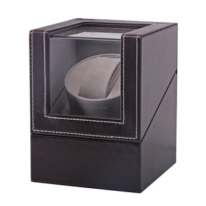 Image 4 - Collection Watch Winder Transparent Cover Automatic Mechanical Luxury Display Box Holder Motor Shaker Jewelry US Plug Case