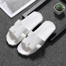 Women Slipper Diamonds Water Chestnut Cool Wear-resisting Room And Foreign Comfortable Lovers White Zapatos De Calzado Mujer