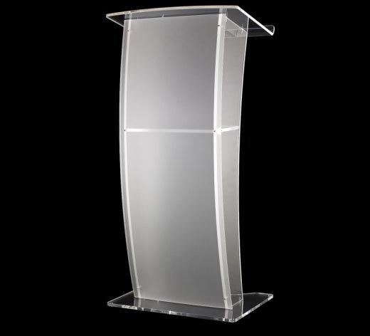 Acrylic Desktop Lectern Acrylic Lectern Stand / Acrylic Podium Pulpit Lectern For Church Modern Design Acrylic Lectern