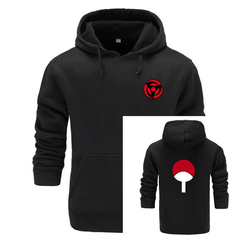 New Naruto Hoodies Sweatshirts Uchiha Syaringan Hooded Boys Fashion Hokage  Ninjia Men/women Classic Cartoon printed Clothes 3xl Hoodies & Sweatshirts   - AliExpress