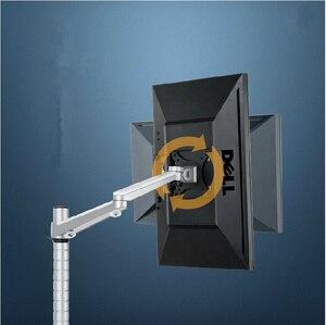 Image 3 - ارتفاع قابل للتعديل 13 27 مؤشر LED LCD بالبوصة حامل تليفزيون OA 3S حامل مراقب الذراع قوس 360 درجة تدوير حامل شاشة الكمبيوتر