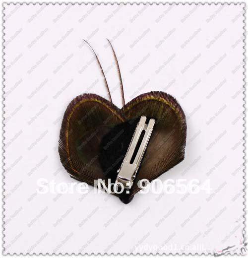 Каваи Павлин головные уборы с перьями 4 дизайн для избранных мини детская шапка заколка для волос Новинка ручной работы оптом и в розницу