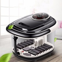 New Arrival Multifunctional Fully Automatic Electric Roller Feet Basin Heating Foot Tub Foot Massage Machine Foot