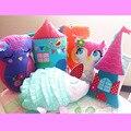 Sala de crianças almofada travesseiro boneca de brinquedo estéreo bonito dos desenhos animados decorativa algodão pillow contendo núcleo interno