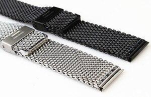 Image 2 - Toptan 10 adet/grup 18 MM, 20 MM, 22 MM 24 MM Paslanmaz Çelik saat kayışı saat kayışı Bilezik Askısı gümüş ve siyah WBS0099
