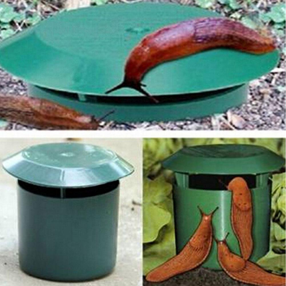Eco-friendly Snail Cage Slug House Snail Trap Catcher Pests Reject Gintrap Tools Animal Pest Repeller Garden Farm Protector