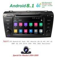 7 Inch Android 8.1 Car Radio For 2009 2008 2007 2006 2005 2004 MAZDA 3 GPS Navi Wifi 4G Multimedia Player Head Unit Auto Stereo