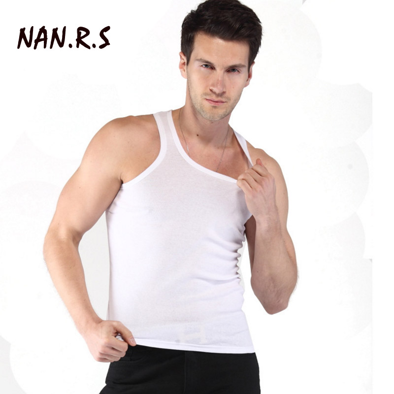 2018 Clothing Casual Gilet Men O-Neck   Tank     Tops   Summer Male Bodybuilding Sleeveless Vest Gymclothing fitness Men Underwear