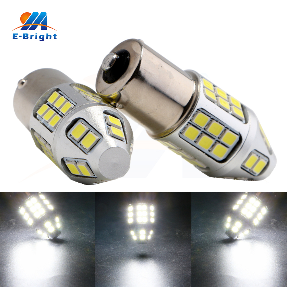10pcs/lot 12V 2835 40 SMD 1000LM 1156 BA15S 1157 BAY15D Truck Car Leds Light Bulb Univer ...