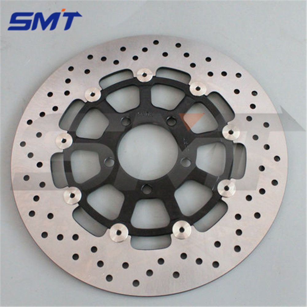 motorcycle Stainless steel outer ring front brake disc rotor For SUZUKI GSX1300R HAYABUSA 1999 2000 2001 2002 03 04 05 2006 2007 free shipping motorcycle brake disc rotor fit for suzuki dl1000 v strom 2002 2010 front