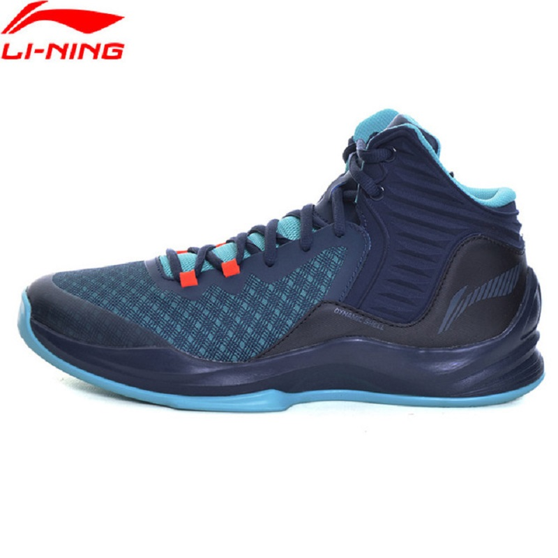 Li-Ning QUICKNESS Men Basketball Shoes Breathable On Court Sneakers Li Ning Cushion Comfortable Sports Shoes ABPM031 peak sport men outdoor bas basketball shoes medium cut breathable comfortable revolve tech sneakers athletic training boots