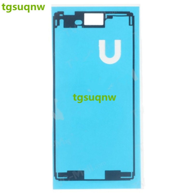 Front+Back Adhesive Glue Tape Waterproof Sticker For Sony Xperia M4 Aqua E2303 E2333 LCD Housing Frame Back Battery Sticker