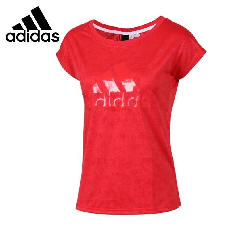 Original New Arrival 2018 Adidas SS T LEOPARD Women's T-shirts short sleeve Sportswear original new arrival 2017 adidas freelift prime men s t shirts short sleeve sportswear